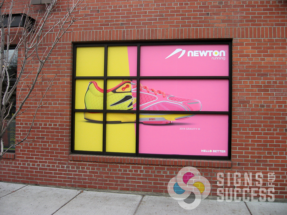 Window Graphics - Signs for Success