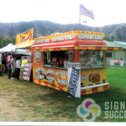 Food Truck wrap - concession trailer wrap Spokane