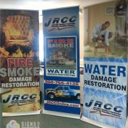 Banner Stand-trade show banner-retractable banners