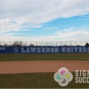 Custom Baseball Fence Slats