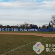 Custom Outfield Fence Slats