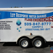 Plumbing Trailer Advertising Wrap