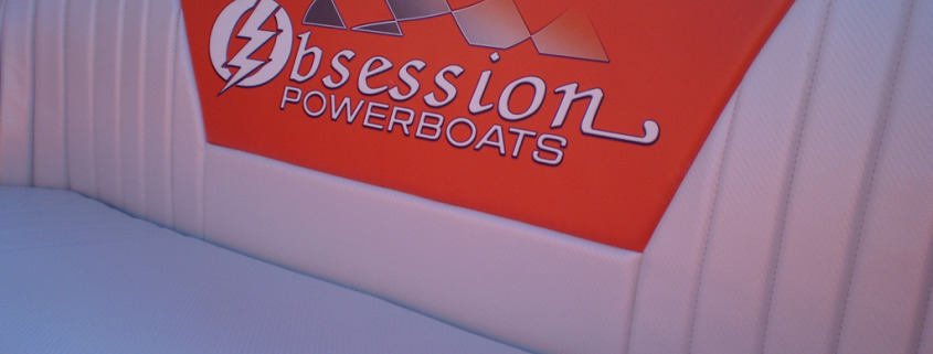 When you want your boat cushions and seats to match the rest of your boat, or for an update, call Signs for Success for Custom printing on heavy duty marine grade vinyl