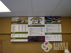 Menu Signs Spokane