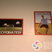 Fitness posters for motivation at Spokane Gym Fast Trac Performance, affordable, durable large posters