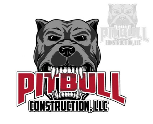 Custom Logo Design for Pitt Bull Construction