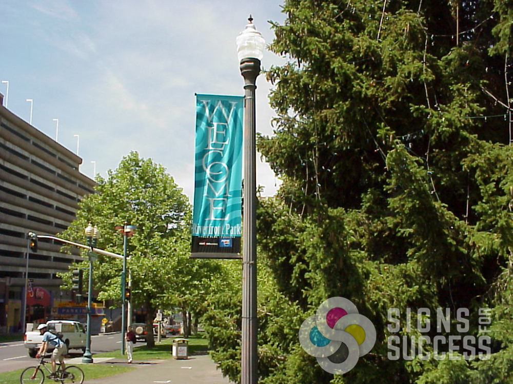 Pole And Street Banners Signs For Success