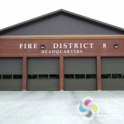 Spokane County Fire District 8 wanted large metal aluminum dimensional letters for their headquarters, Signs for Success helped them fast, call now, dimensional letters spokane valley