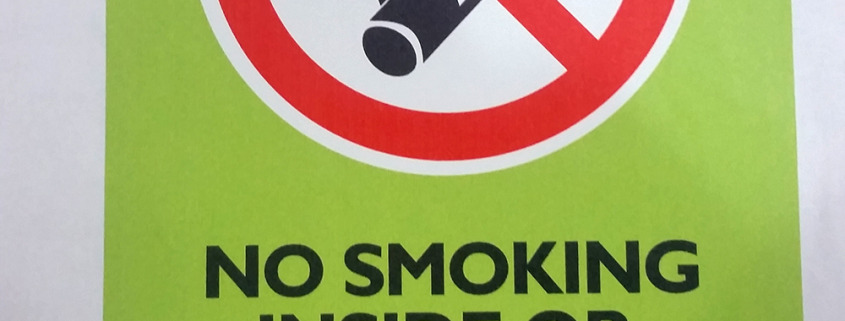 Custom No Smoking sticker, Signs for Success in Spokane has quite a few layouts for NO SMOKING signs and decals, we can make a few or dozens or hundreds for your purposes, no smoking signs spokane