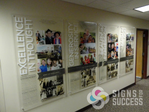 Add Character With Custom Acrylic Signs Signs For Success