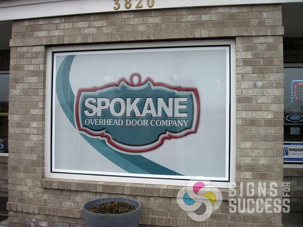 Window Graphics Signs For Success