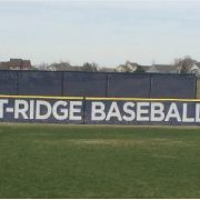 Custom Printed Chain Link Fence Slats for Baseball