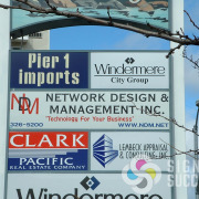 Let Signs for Success in Spokane and Spokane Valley help you get seen by updating your backlit tenant signs