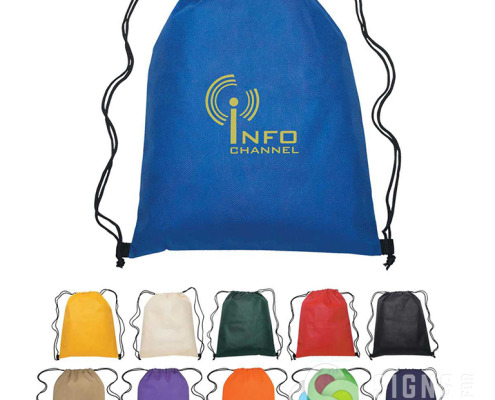 Many types of drawstring bags, plastic bags, shopping bags can be found at our WebMall, check out Signs for Success now in Spokane