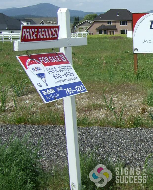 yard signs  political  realtor