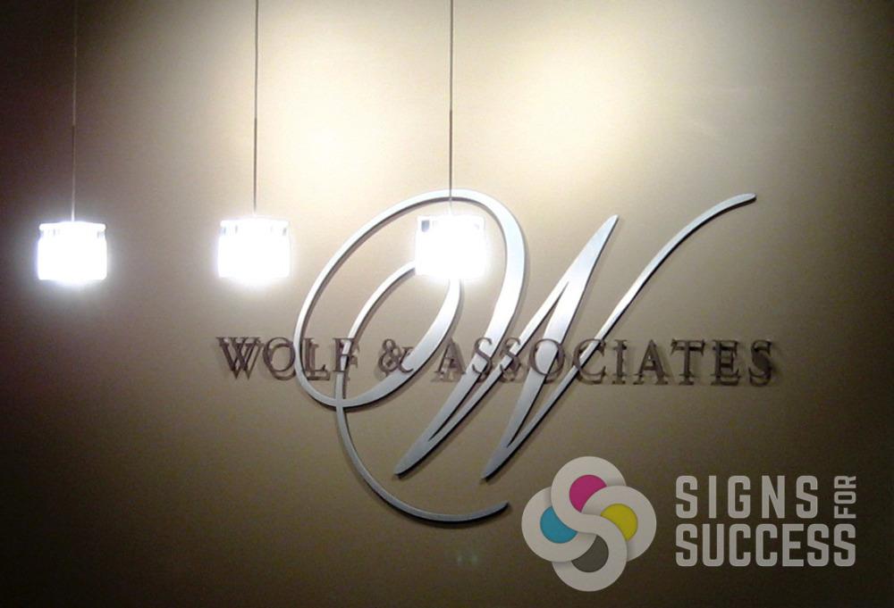 Custom Metal Letters Interesting Custom Metal Letters Spokane  Signs For Success Inspiration Design