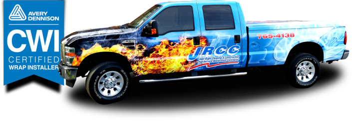 Vehicle lettering & wraps, graphics