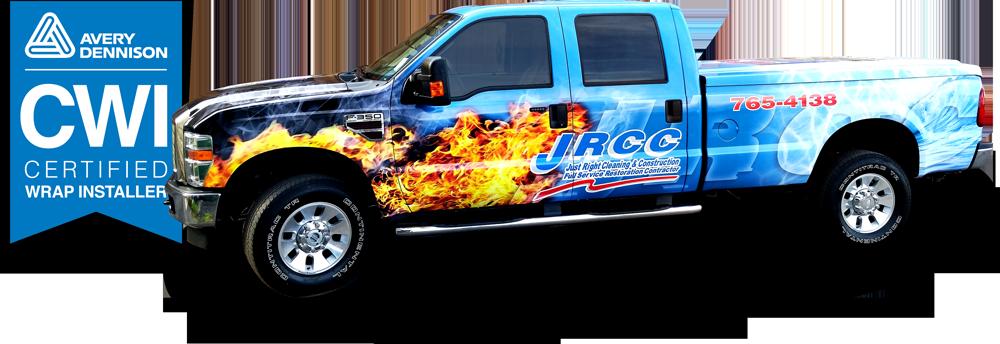 Vehicle lettering & wraps, graphics