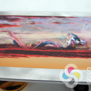 professional art prints, Signs for Success can print directly to your flat piece of metal, whether it's brushed aluminum, steel, copper, coated or uncoated, diamond plate, Give us a call now for fast sign service in Spokane, metal prints spokane