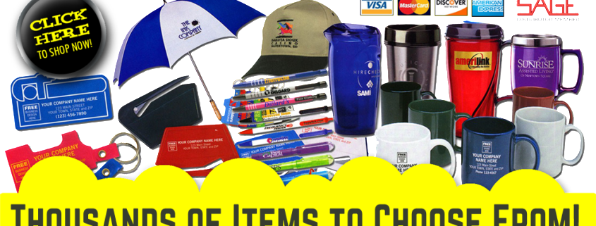 Logo Mall, Web Mall for thousands of promotional products for events and tradeshows, call Signs for Success for your giveaway needs in Spokane