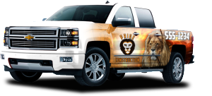 Partial Wrap vehicle wraps quote