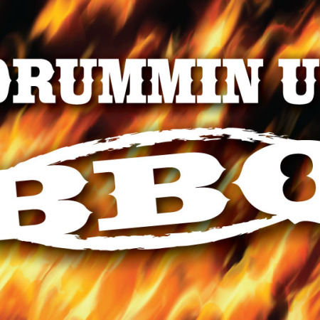Flame on! When Drummin up BBQ needed a new, contemporary, attractive, bold look for their logo, Signs for Success took care of that design