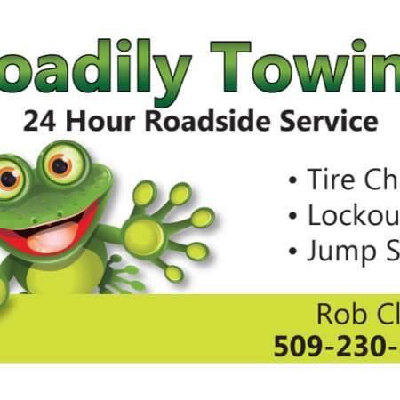 Toadily-Towing needed to get rid of the old logo and update with a new look