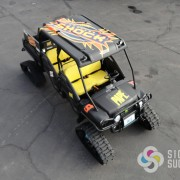 John Deere Gator Matte Black Wrap, off road wraps in Spokane and Medical Lake