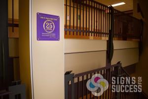 custom printed school signs, Rogers High School in Spokane