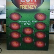 Working with Chewelah Casino is interesting; the standees we create each promotion get better every time. Lots of fun