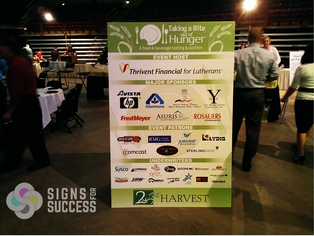 Event Sponsor Banners Side Banners