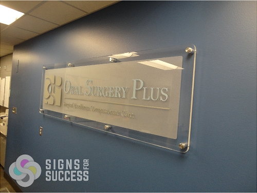 Polish Off Your Sign With Stand Off Mounts Signs For Success