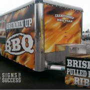 BBQ Food Truck Wraps - Concession Trailer Wraps