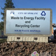 update your facility with a new entry sign, monument sign, or site sign in Spokane, entry sign makeover