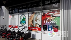 retail store window wrap graphics by Signs for Success