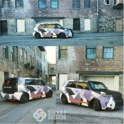 Scion XB Custom Wrap, custom color change vehicle wraps in Spokane