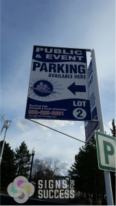 Aluminum Parking Signs Spokane