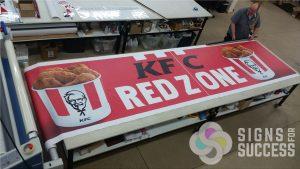 Red Zone Sponsor Banner