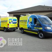ford transit van wraps, fleet wraps, car wrap installation spokane