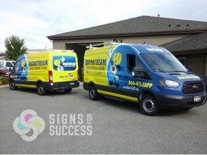 ford transit van wraps, fleet wraps, car wrap installation spokane