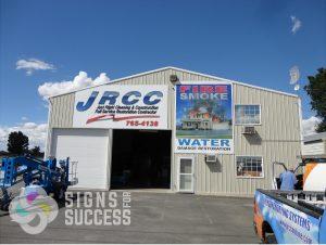 new custom building signs at JRCC in Spokane