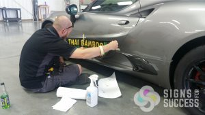sponsor decals for sports car Alpha Romeo Spider in Spokane