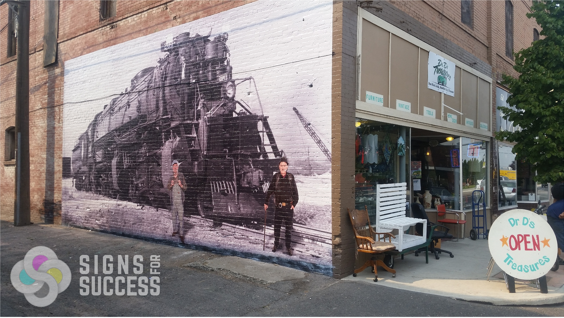 Historic Wall Mural Preserves Great Northern Heritage In