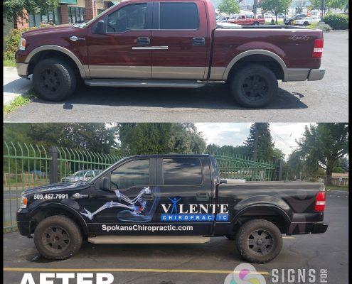 vehicle wrap ROI, custom truck graphics spokane