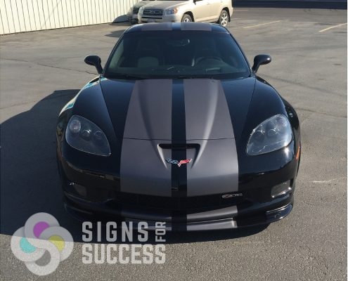 corvette racing stripes, custom racing stripes spokane