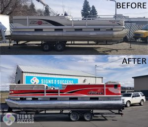 Sun Tracker Pontoon Boat Wrap 3M