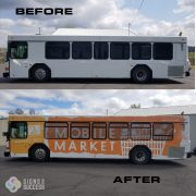 3M Bus Wrap, shuttle Wrap in Spokane