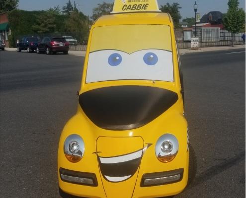 Cutom Cart Wrap cab LIDO