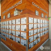Wall of Fame signs and plaques printed ACM
