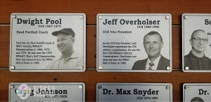 Printed Aluminum wall plaques for wall of fame